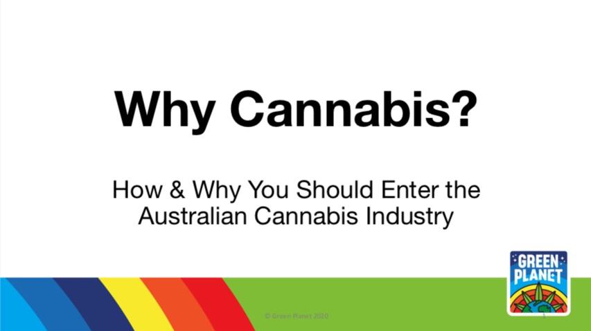 Why Cannabis? Whitepaper