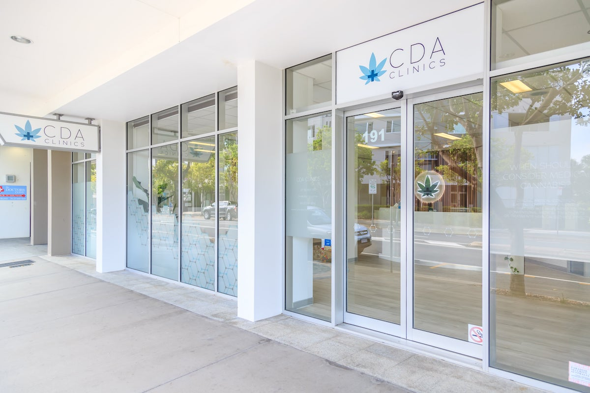 A medical cannabis clinic in Australia